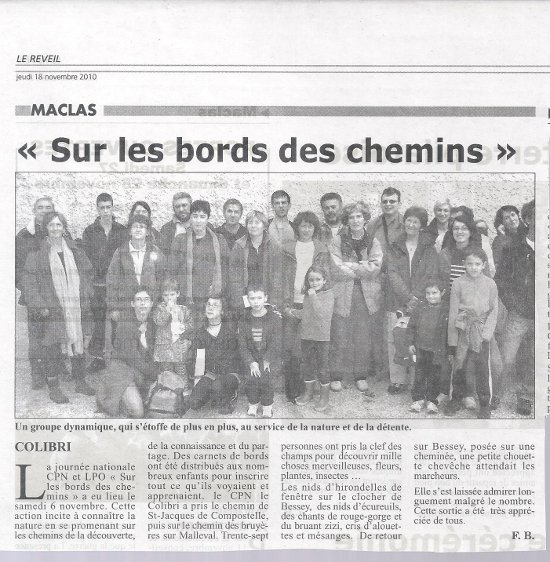 Bords des chemins